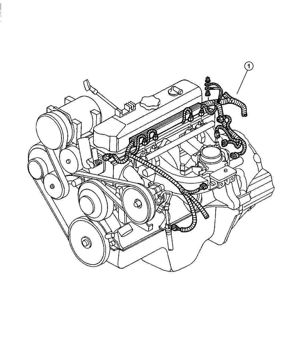 Dodge Wiring Engine