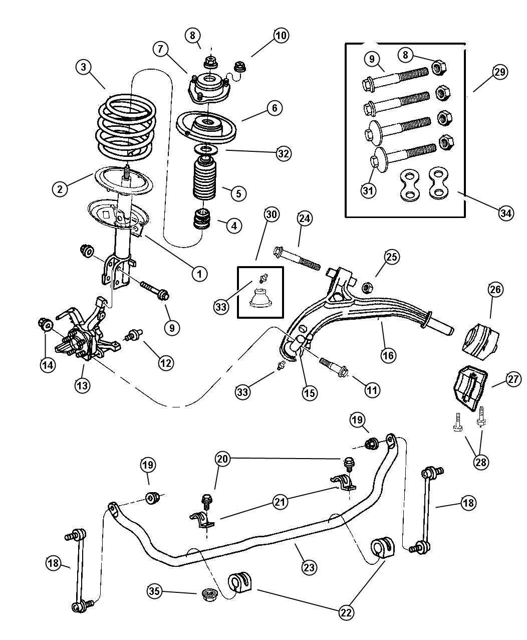 hight resolution of 2003 dodge caravan parts diagram 9 9 spikeballclubkoeln de u2022