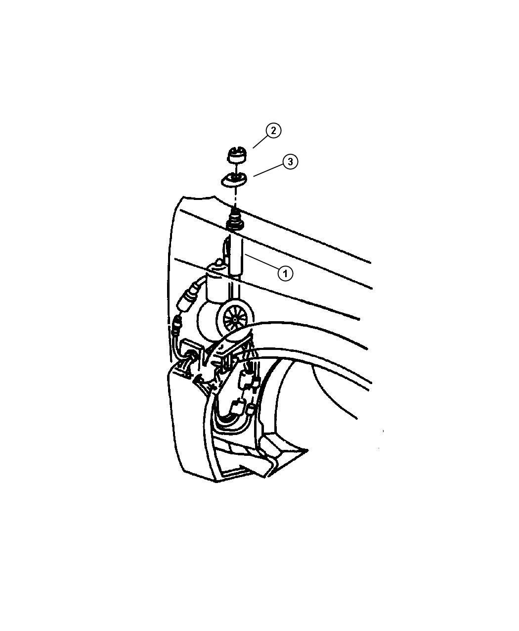 Chrysler Sebring Mast. Power antenna replacement