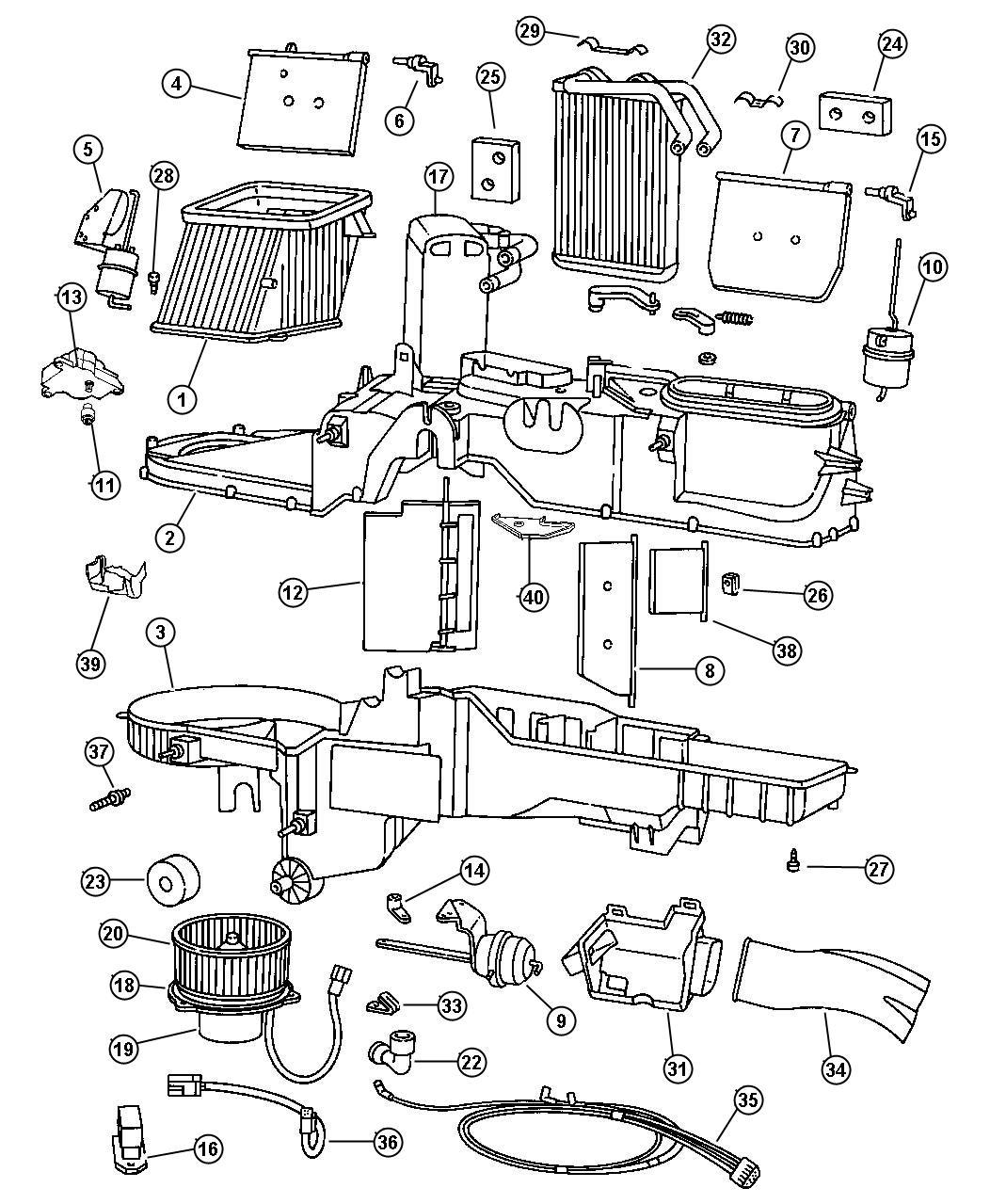 1999 dodge ram 1500 front axle diagram redarc bcdc1240 wiring 1997 3500 parts free engine image