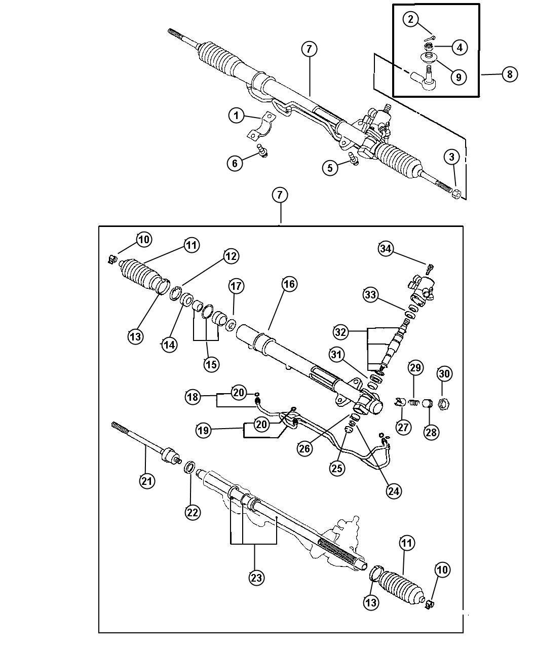 Dodge Avenger Gear. Power steering. (premium), awd