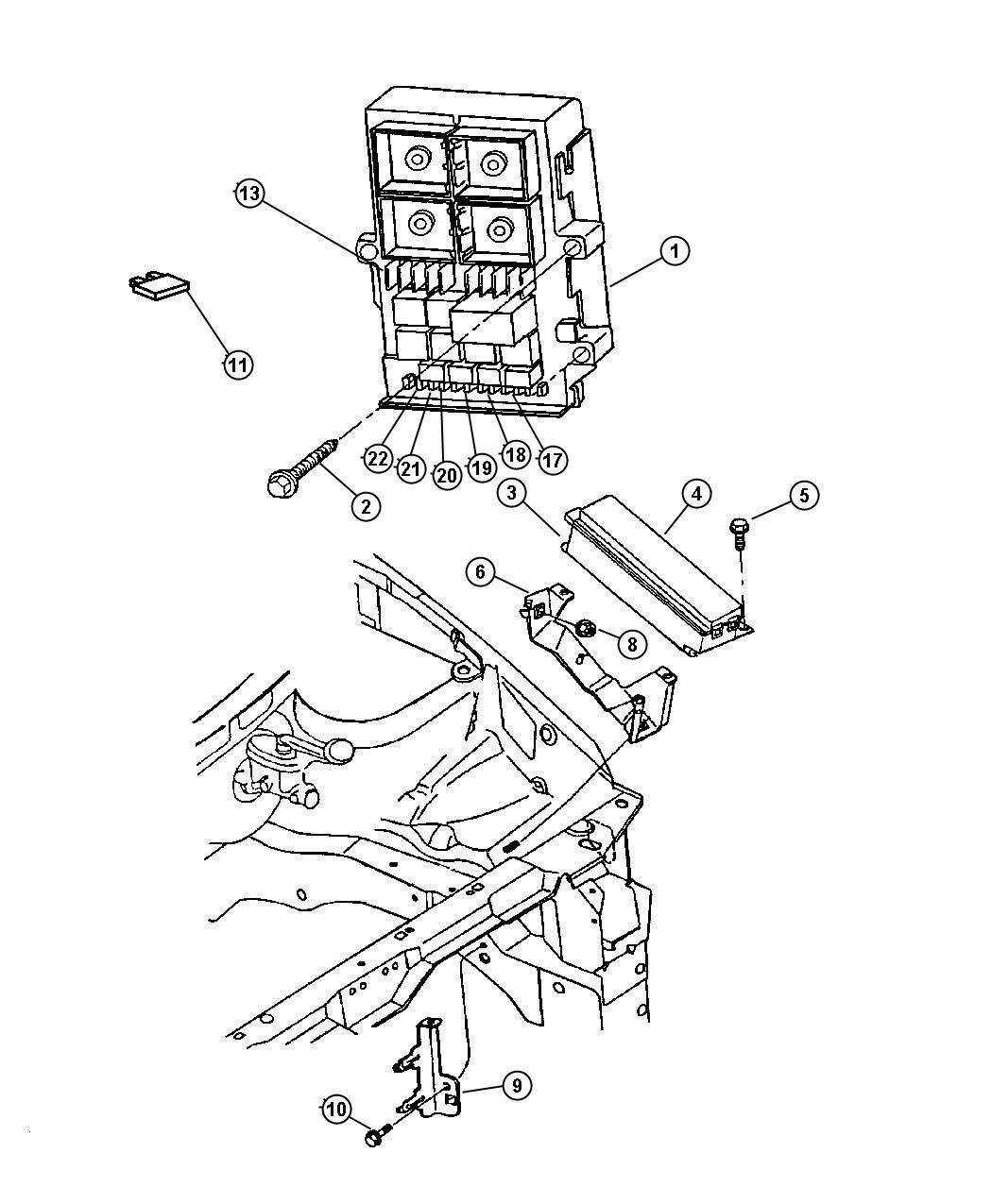 Fuse Box Diagram For Chrysler Concorde