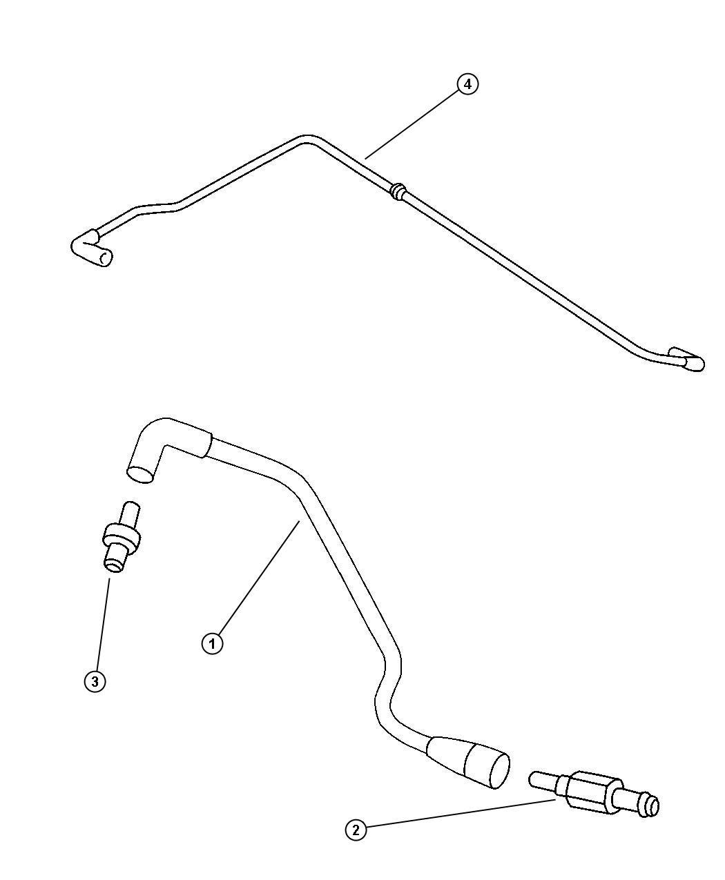 Dodge Neon Hose. Polution control valve. Smpiengine