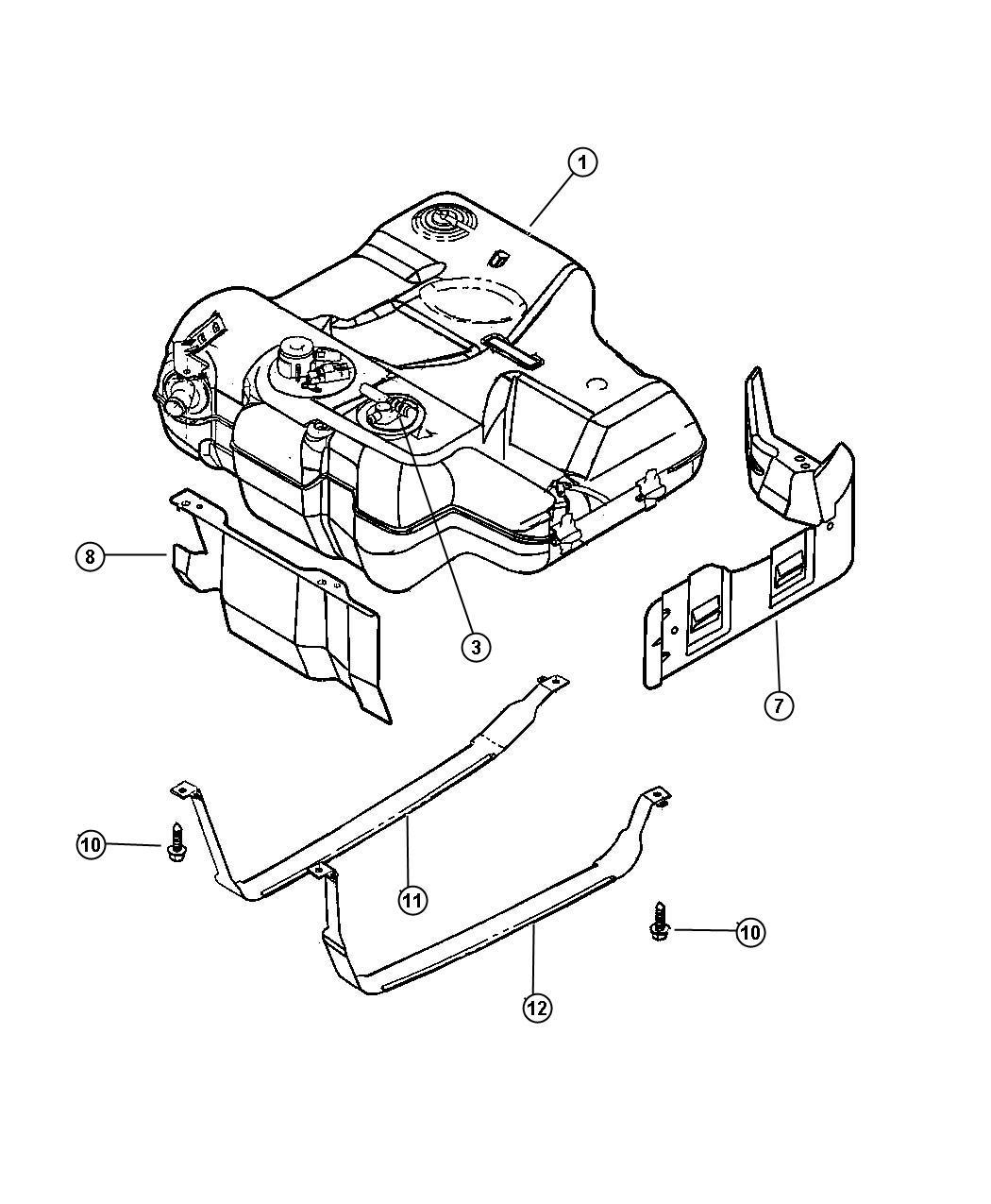 Dodge Intrepid Wiring. Fuel tank jumper. Unleaded fuel