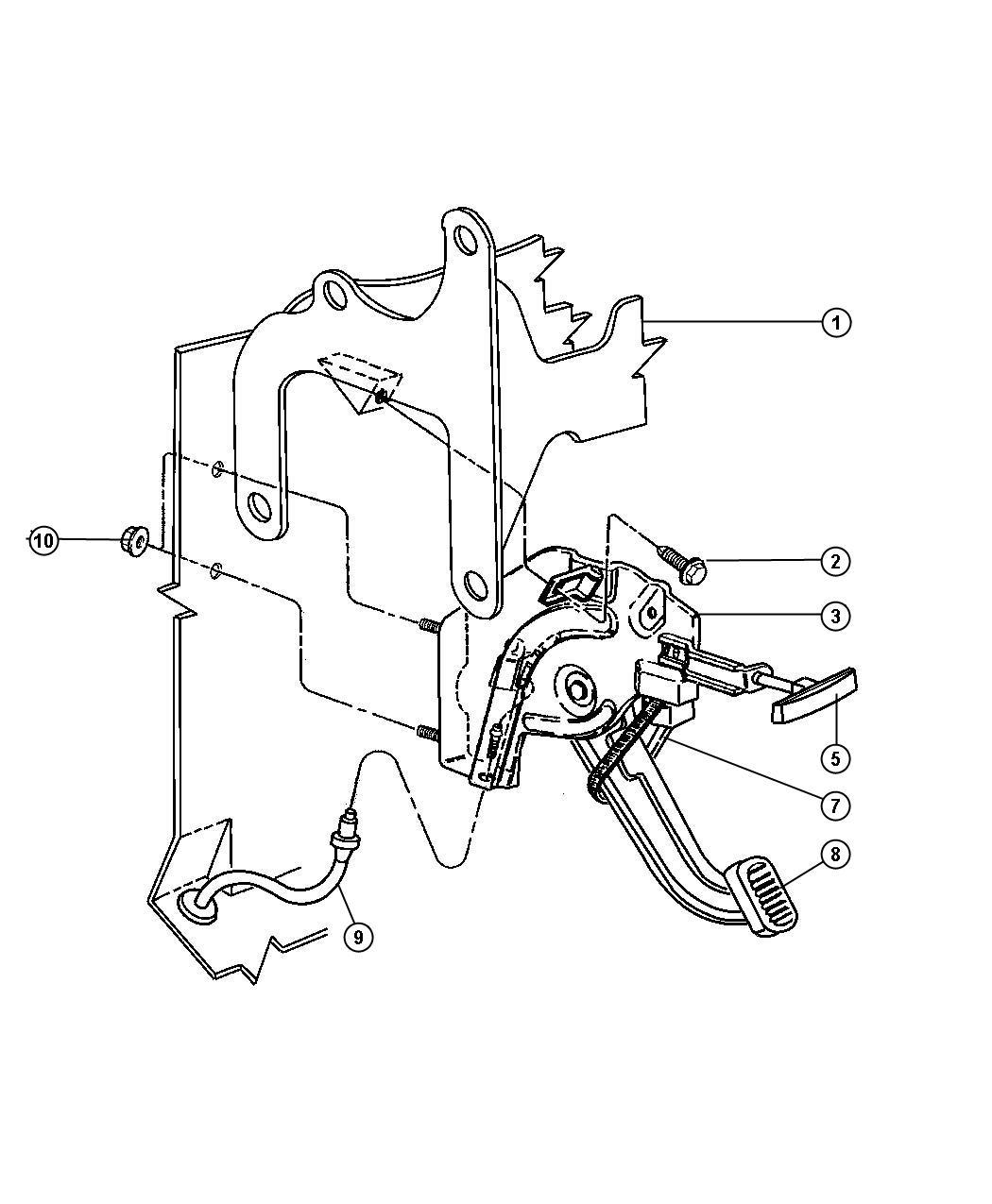Ram Switch Parking Brake
