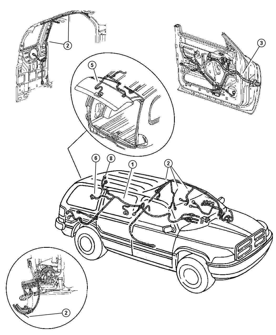 Dodge Durango Wiring Liftgate