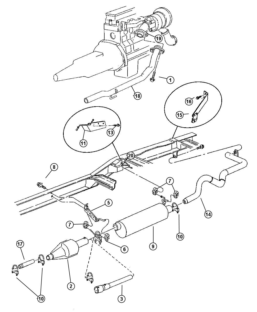 Dodge Ram Resonator Exhaust