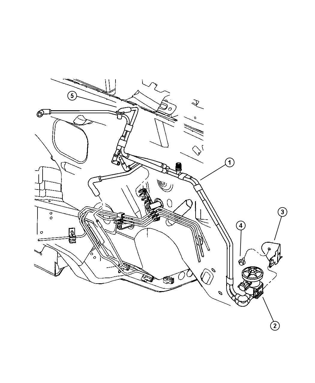 Chrysler Pt Cruiser Harness. Vacuum purge. Use 2/10/03 and