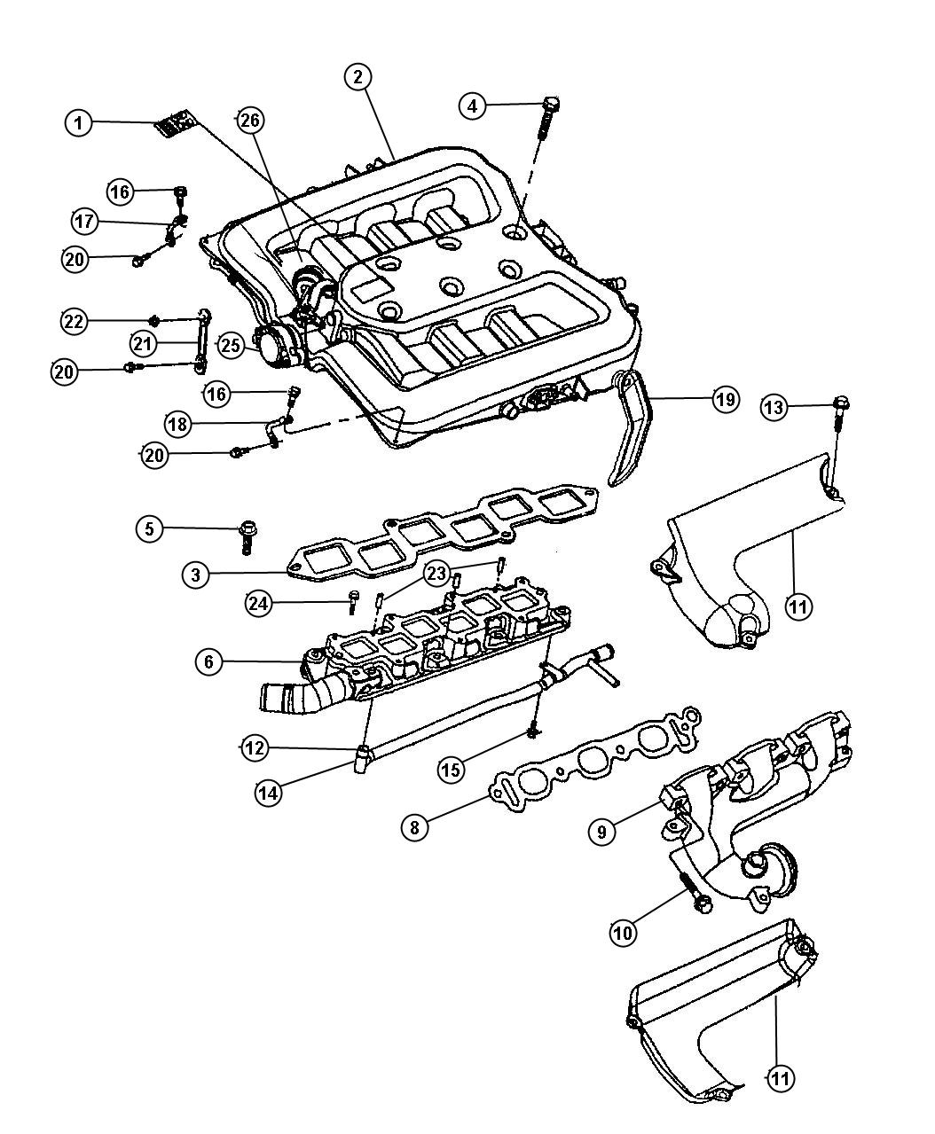 Air Intake Diagram For 1997 Dodge Intrepid, Air, Free