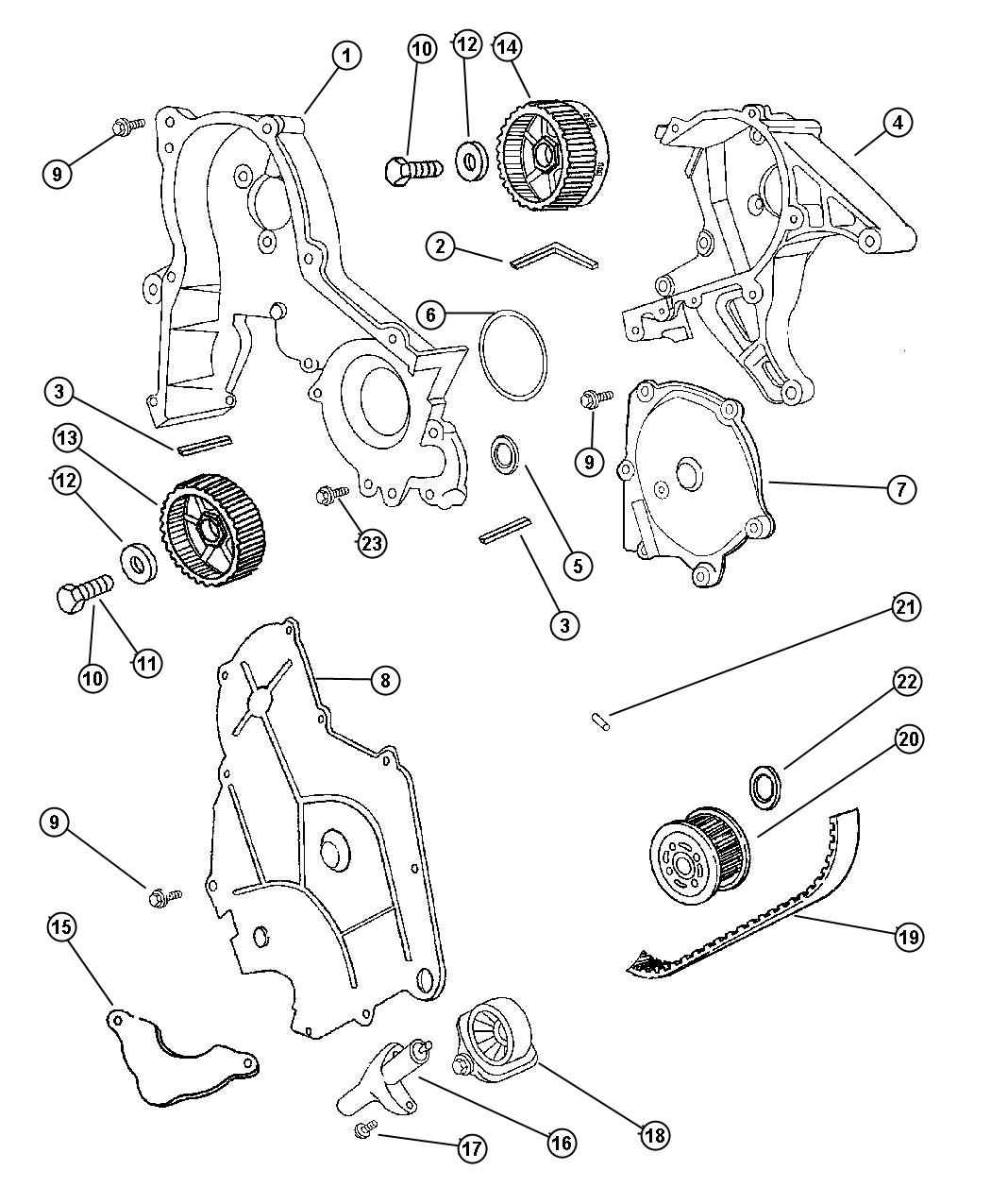 2000 dodge intrepid parts diagram gibson single pickup wiring engine belts free image