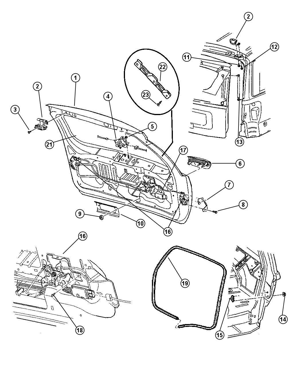 Jeep Grand Cherokee Handle. Liftgate. [x8], laredo, [x8