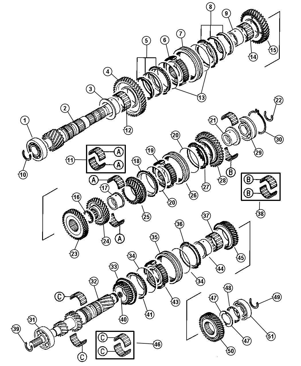 Dodge Stratus Shaft Output