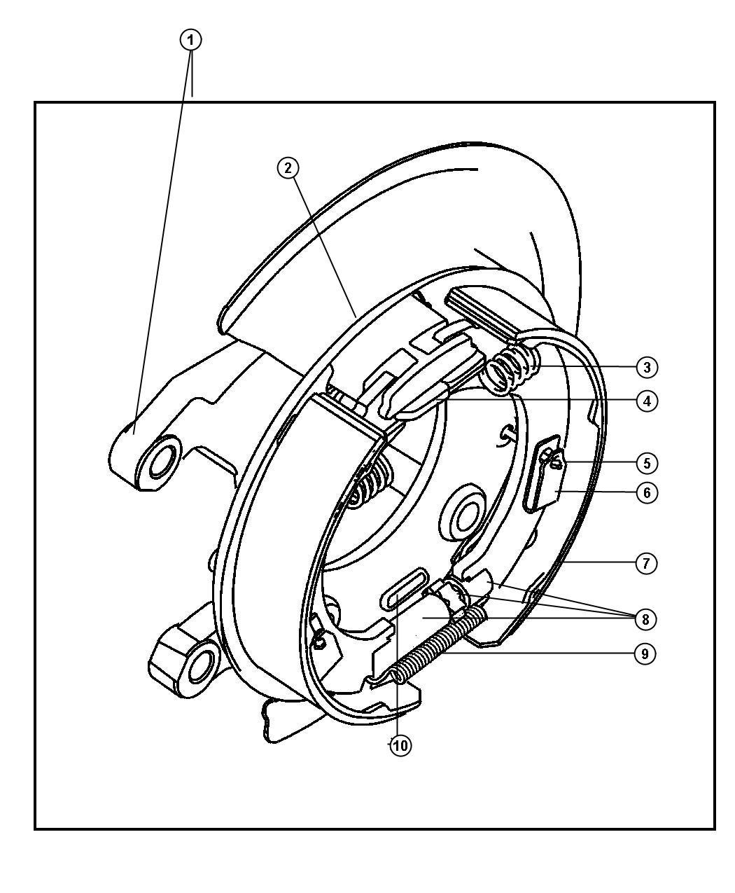 Disc Brake Assembly Diagram