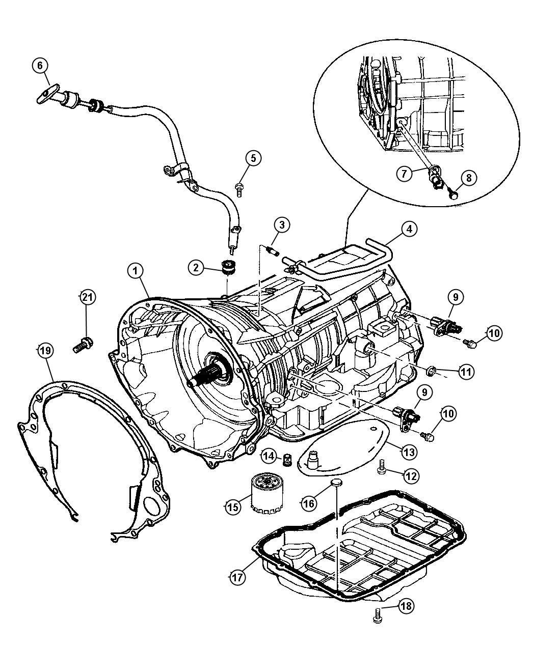2002 Dodge Ram 1500 Transmission Diagram, 2002, Free