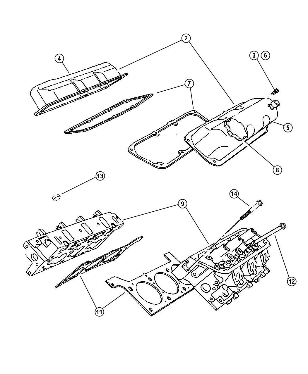 Dodge Caravan Bolt Cylinder Head Hex Flange Head M11x1