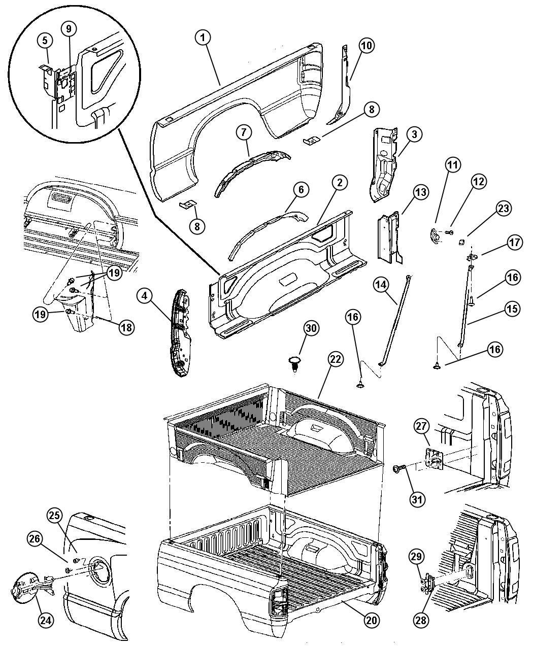 Dodge Ram Tie Down Cargo