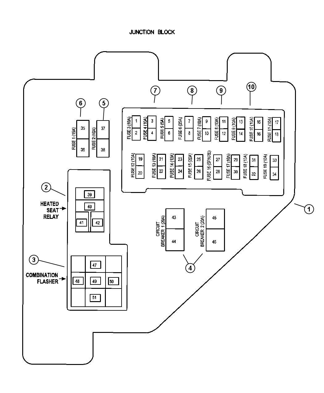 2005 Dodge Durango Interior Fuse Box Diagram   Psoriasisguru.com