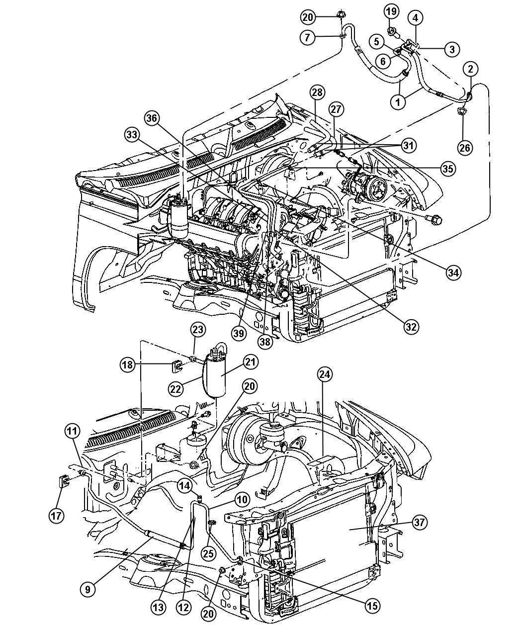 Dodge Switch A C Low Pressure Cut Off