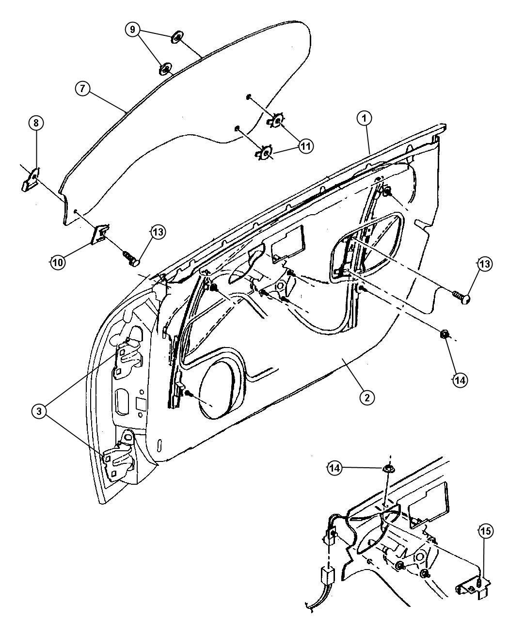Chrysler Sebring Screw Stabilizer Attaching