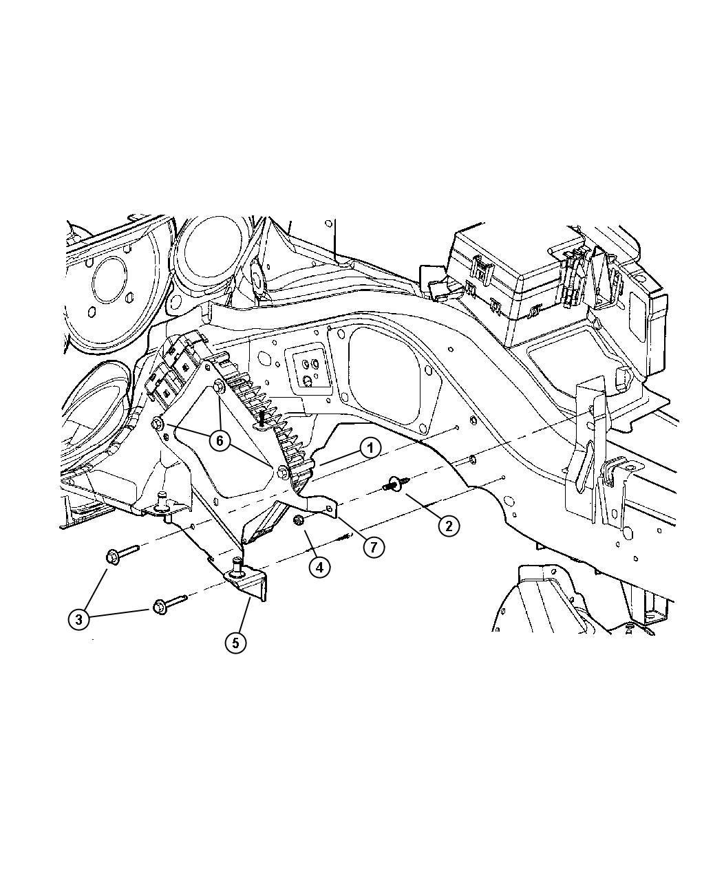 2003 Chrysler Sebring Engine Control Modules [2.0L I4 DOHC