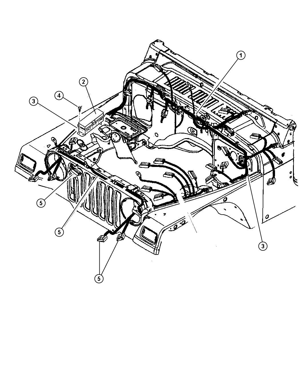 Jeep Wrangler Yj Electrical Diagram