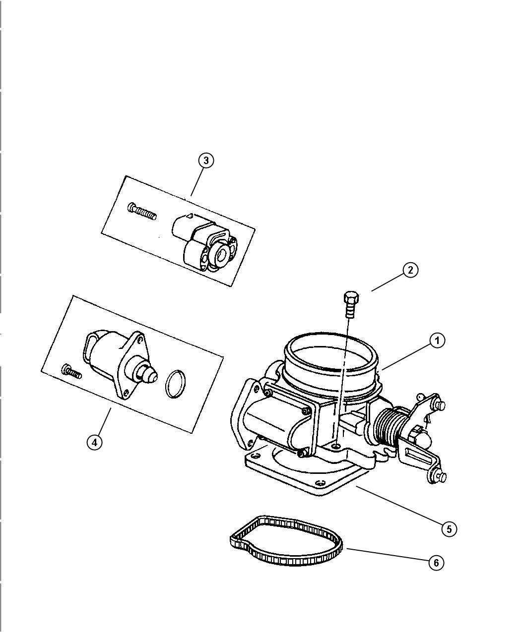 Jeep Wrangler Motor A I S Air Idle Speed Ais