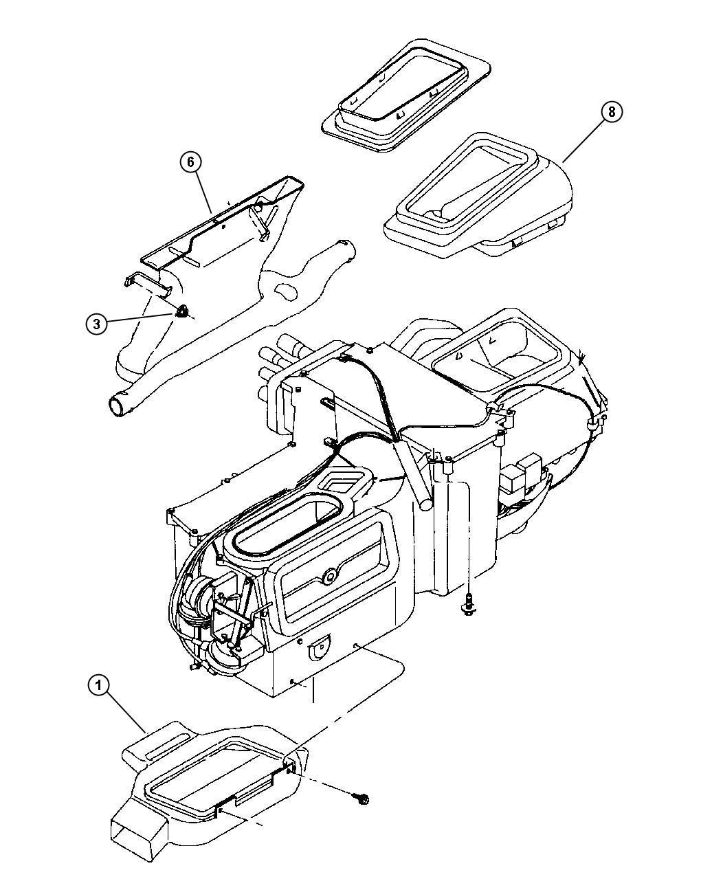 Jeep Wrangler Duct Fresh Air Intake