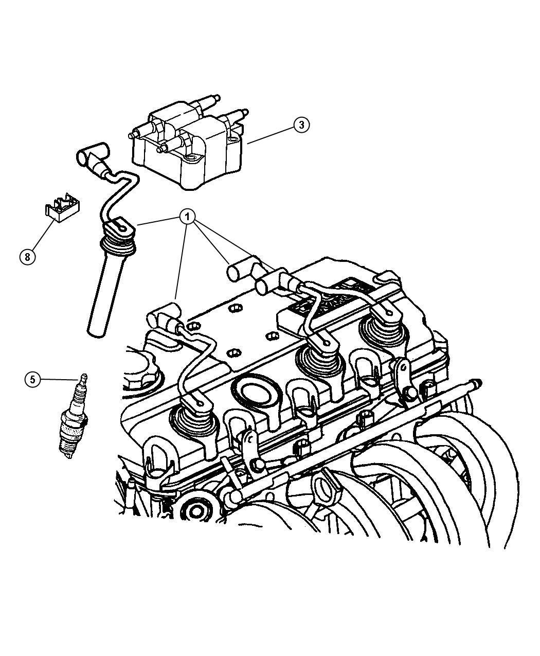 Dodge Neon Spark Plug Rc 9 Mcc Sparkplugs