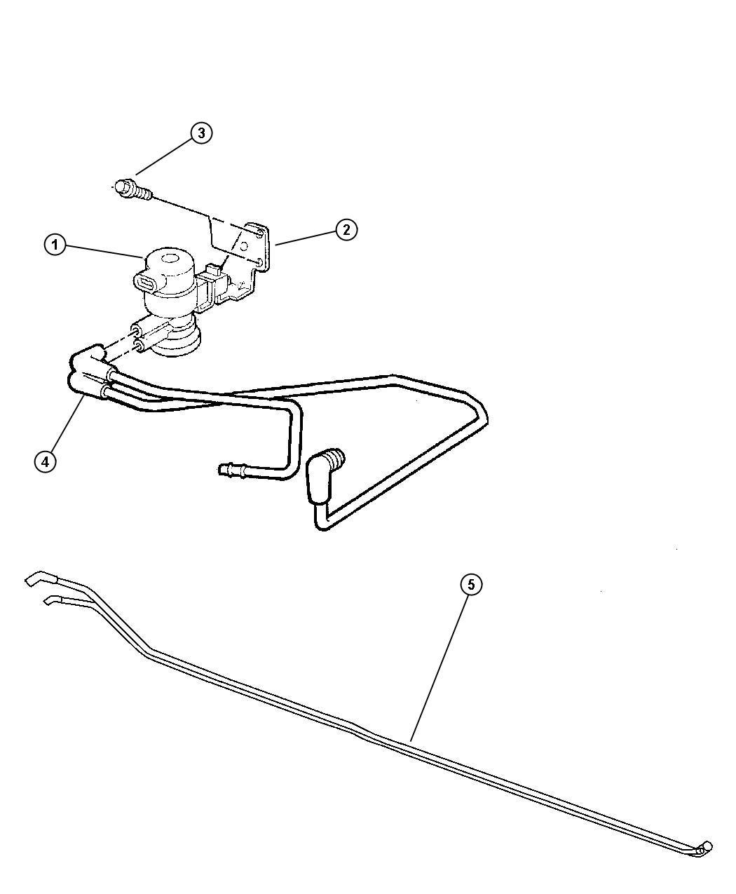 Emission Control Vacuum Harness