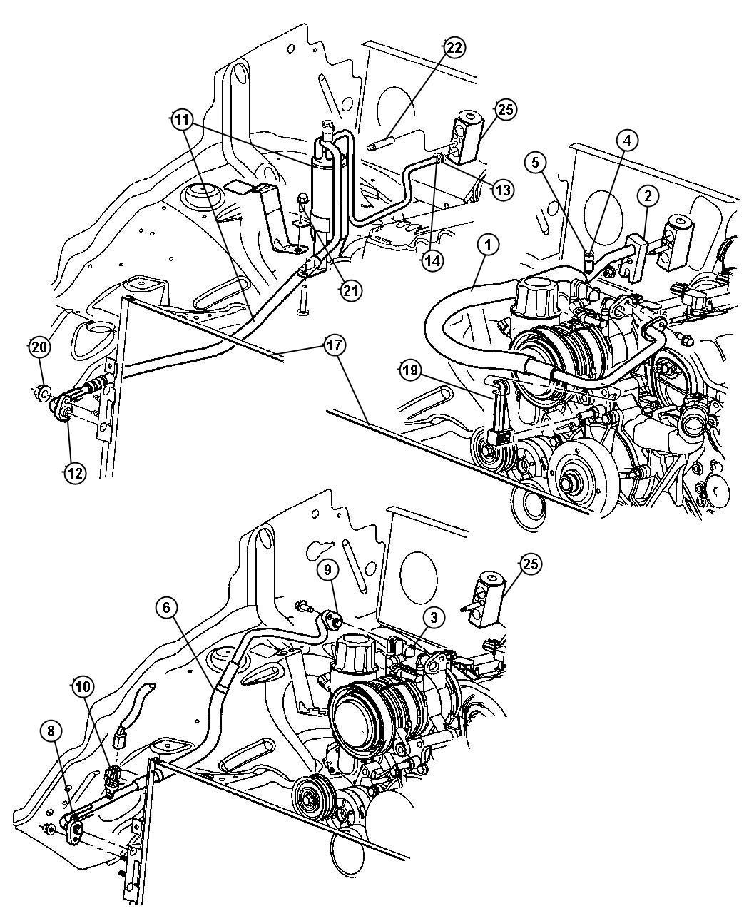 Dodge Avenger Transducer, valve. A/c pressure transducer