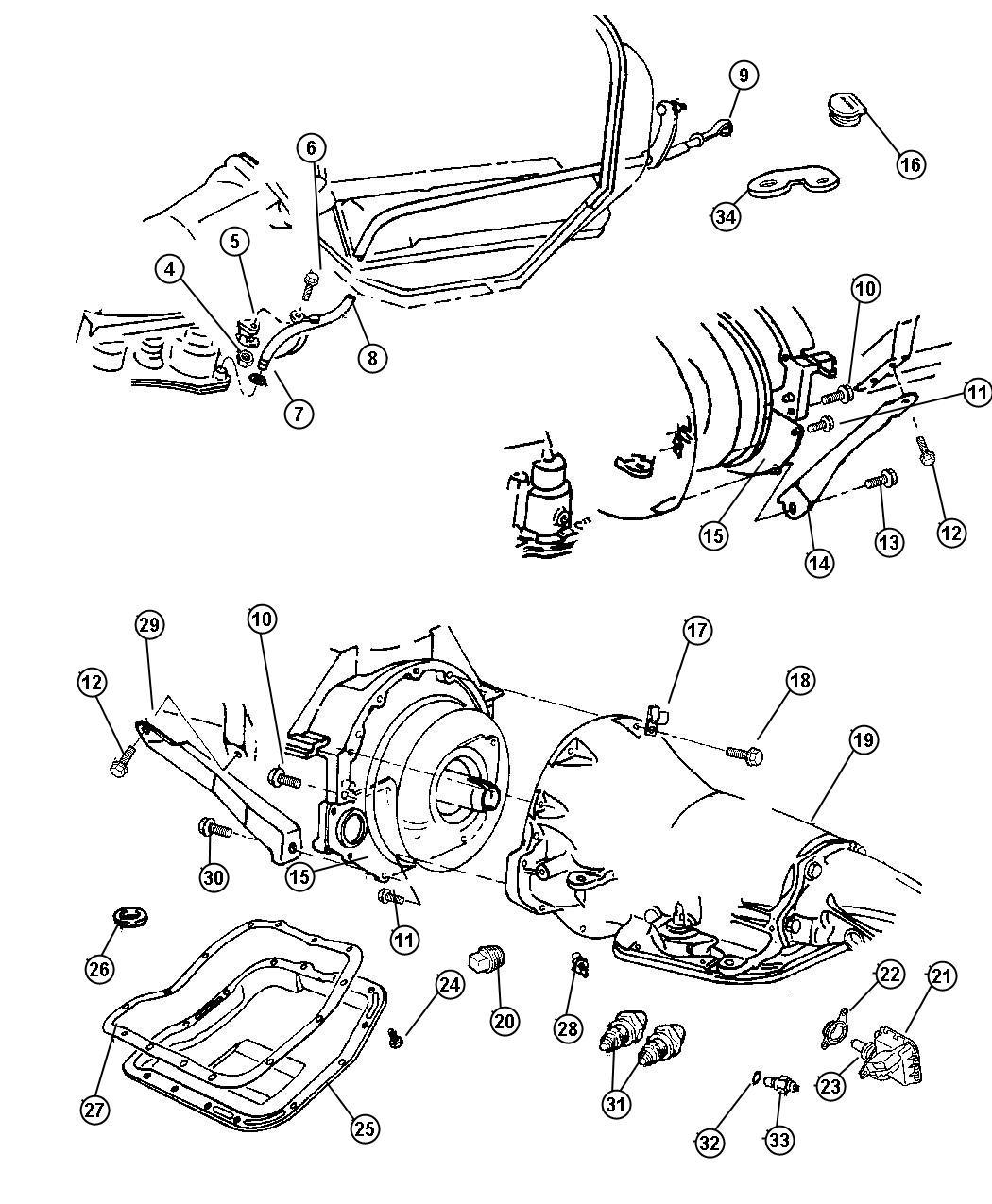 [DIAGRAM] Dodge Ram 46re Transmission Diagrams FULL