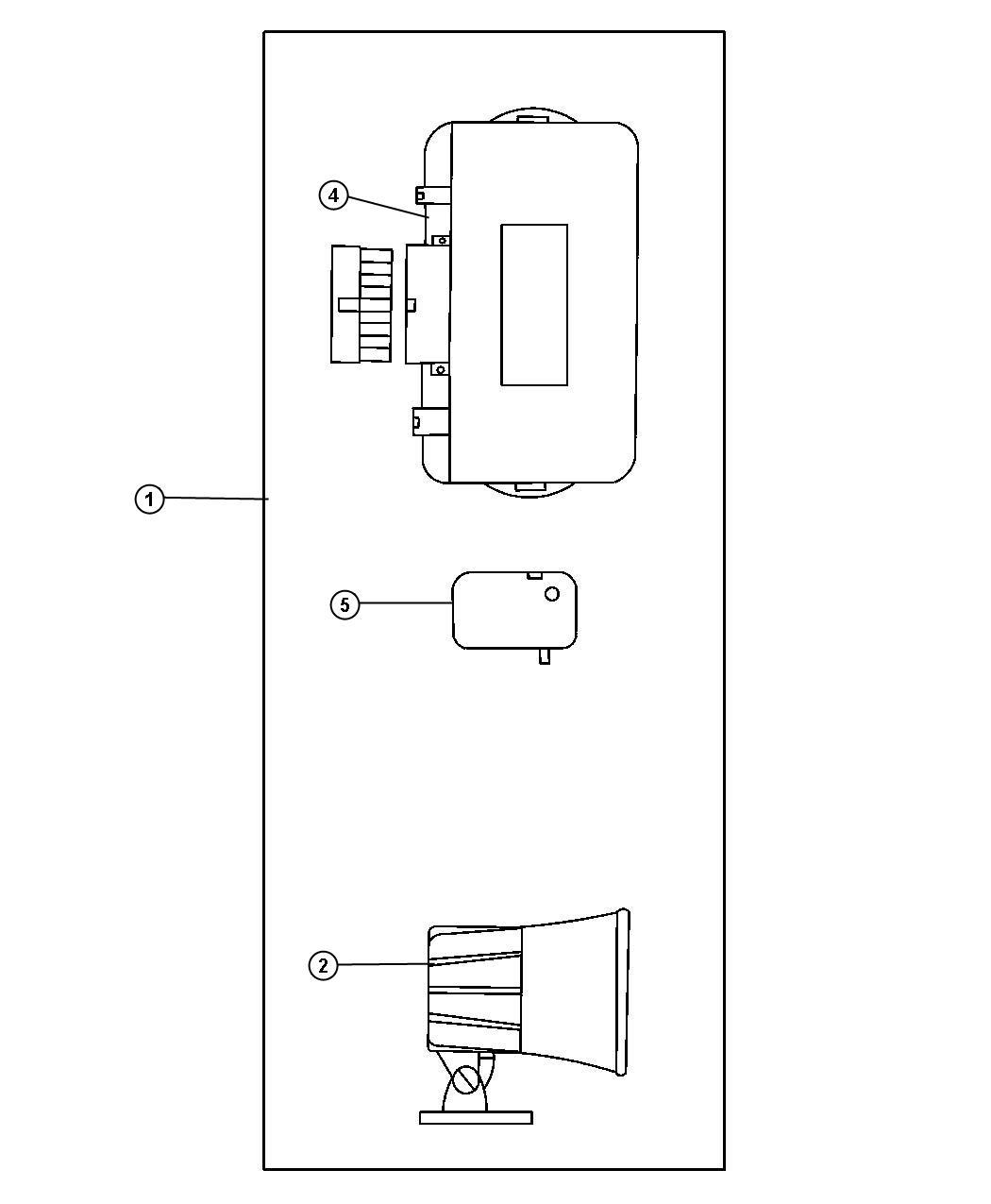 Dodge Durango Module Security Alarm