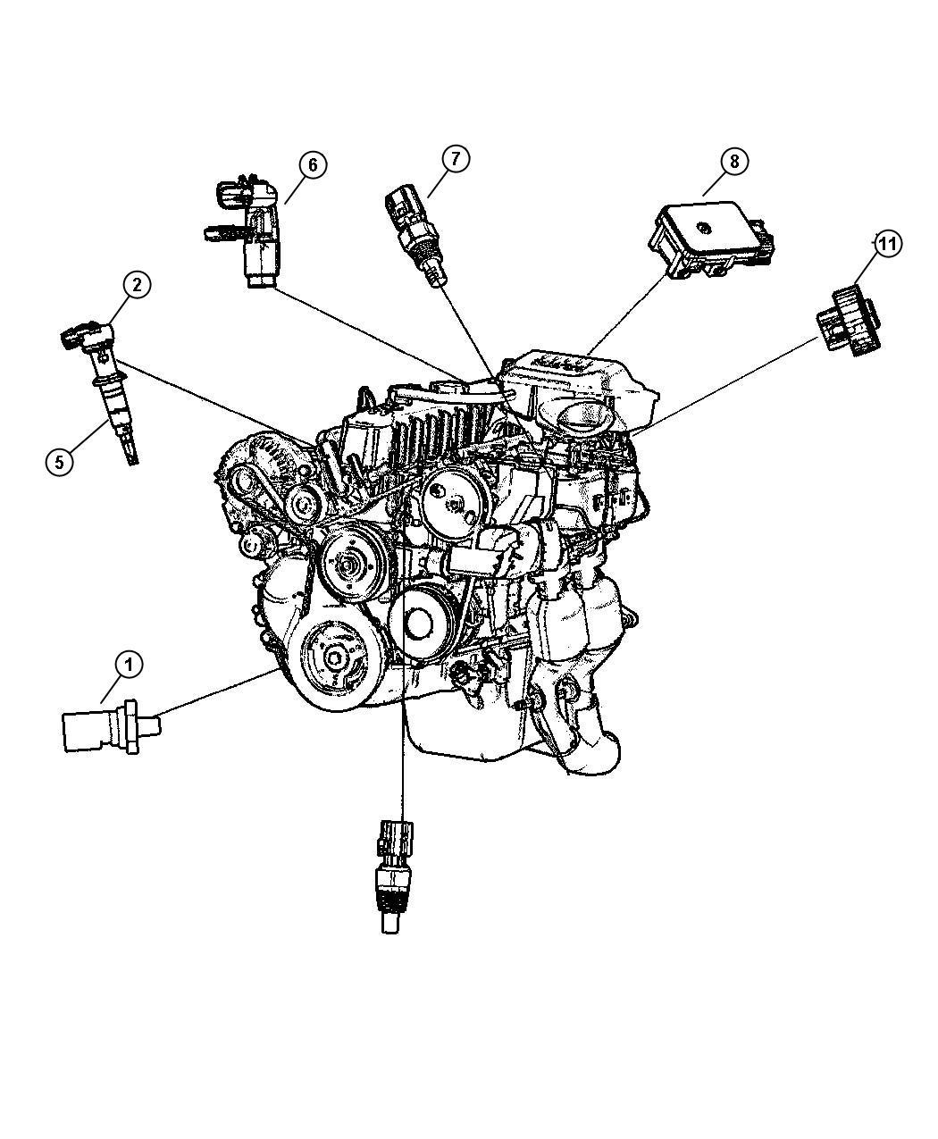 Jeep Grand Cherokee Shield Heat Oxgen Sensor Wiring