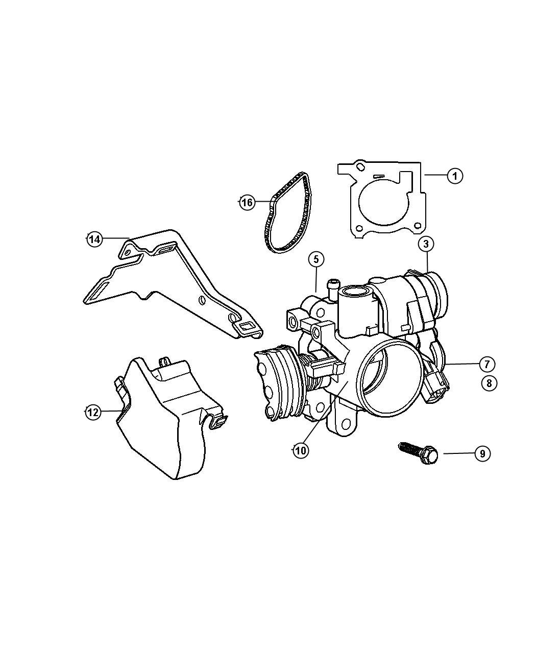 Dodge Neon Solenoid kit. Linear iacv. Consists of