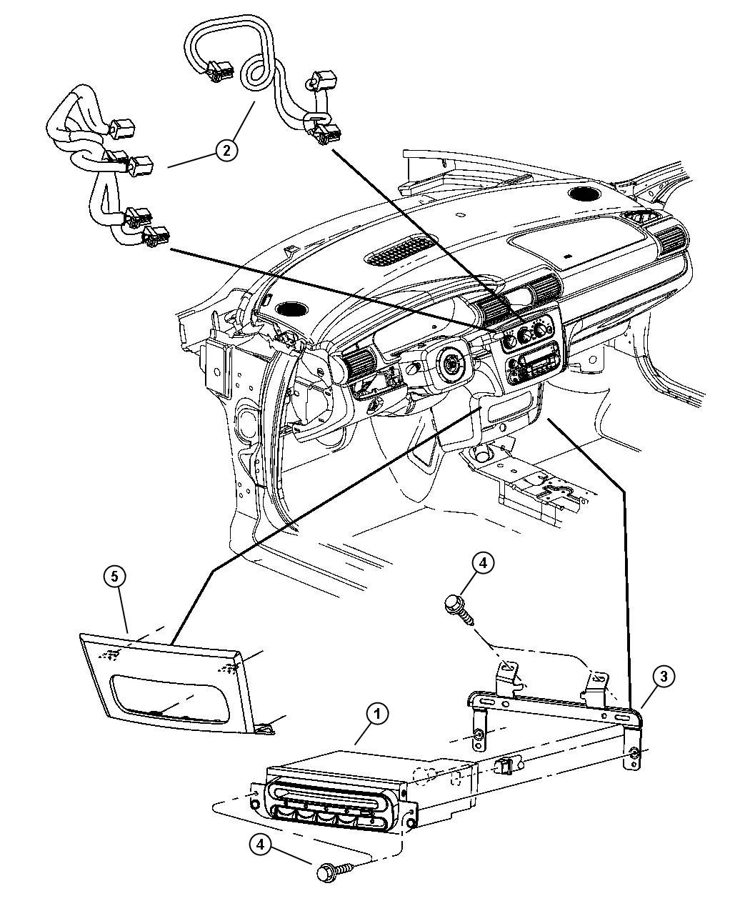 Chrysler Sebring Wiring Compact Disc Changer