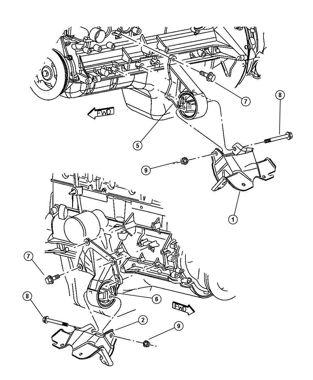 Jeep Grand Cherokee Insulator Engine Mount Right Right