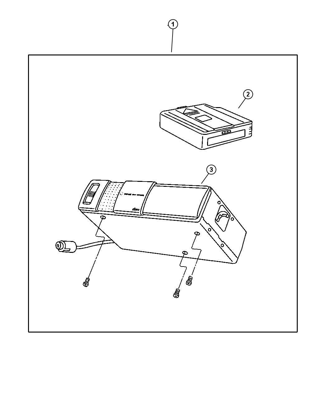 Jeep Wrangler Player Kit Cd Changer