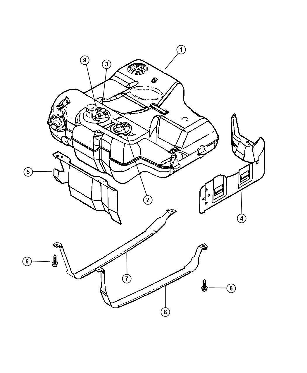 Chrysler 300 Wiring Fuel Tank Jumper