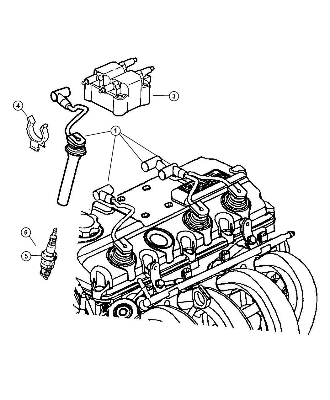 Chrysler Pt Cruiser Spark plug. Re-14mc-c5. Up to 11/27/03