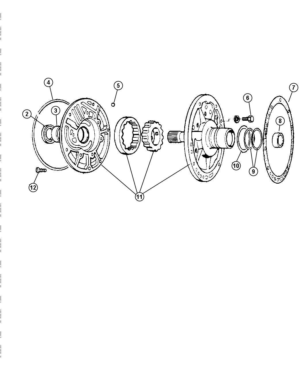 Dodge Dakota Seal Impeller Impeller Hub 57 25mm Od