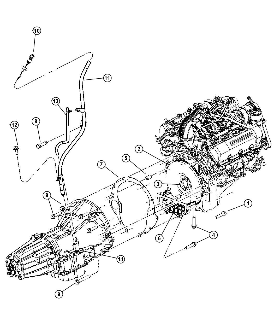 2004 Dodge Dakota Transmission Diagram, 2004, Free Engine