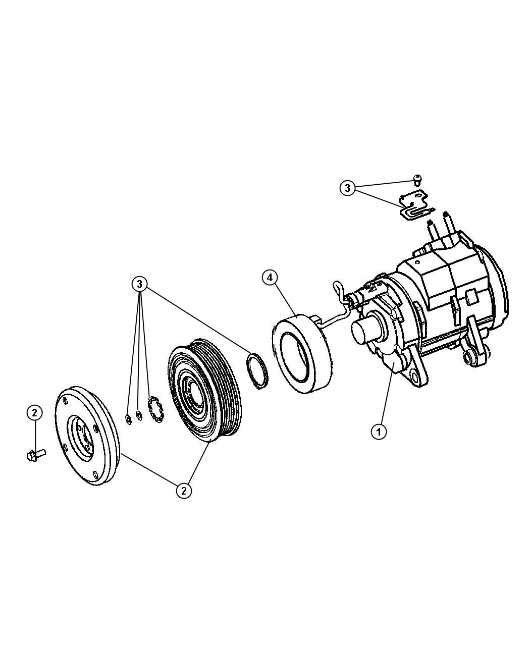 Dodge Durango Slt 5 7l V8 4x2 Compressor Air