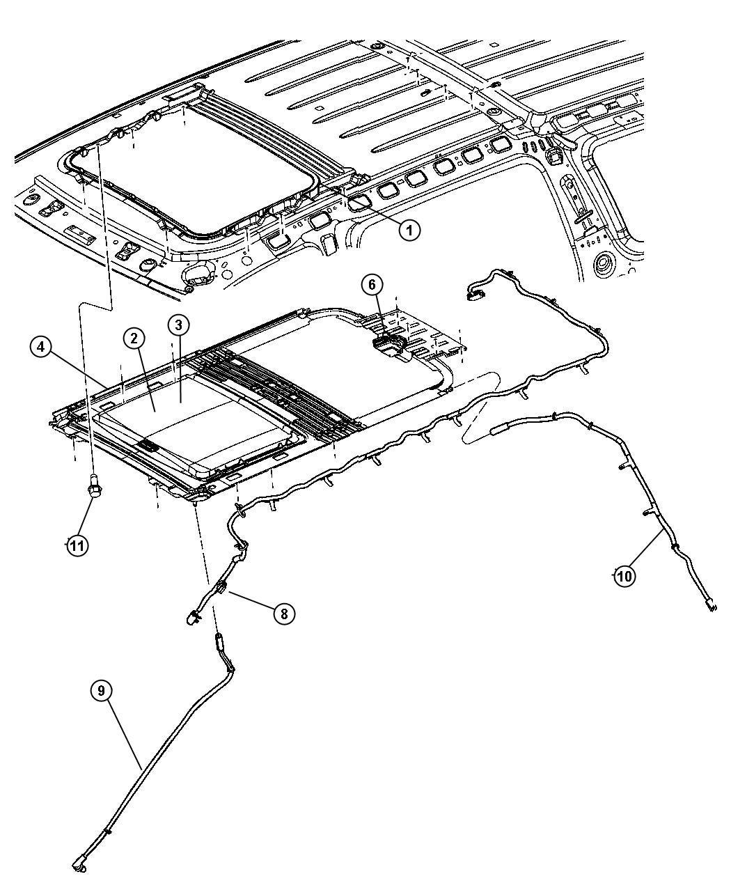 2004 Dodge Durango Roof Parts Diagram. Dodge. Auto Wiring