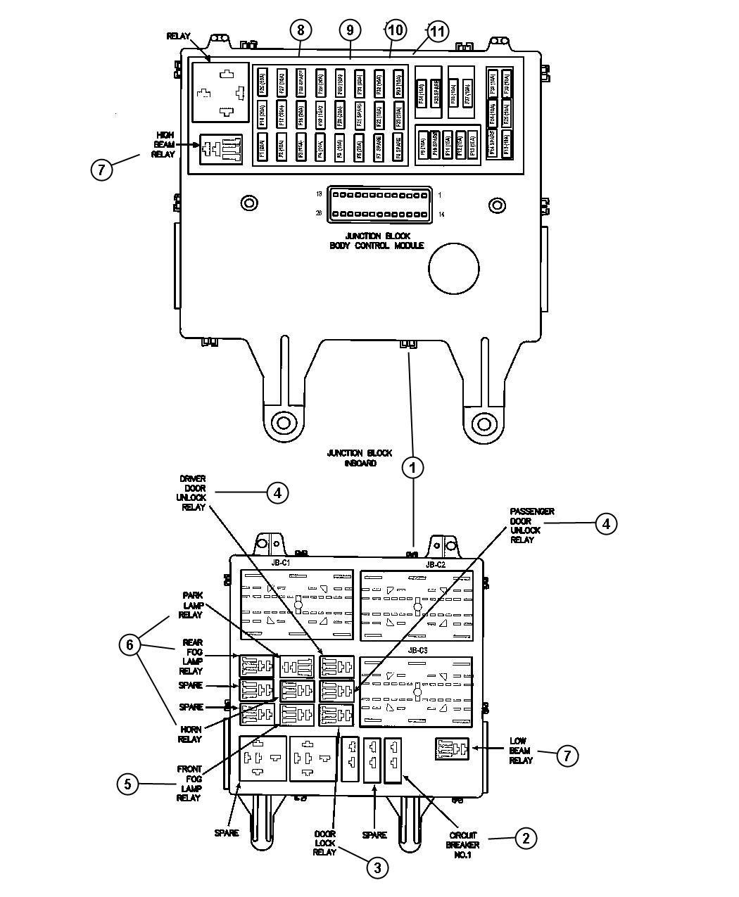 Chrysler Sebring Fuse. Mini. 20 amp, yellow. Eatx, engine