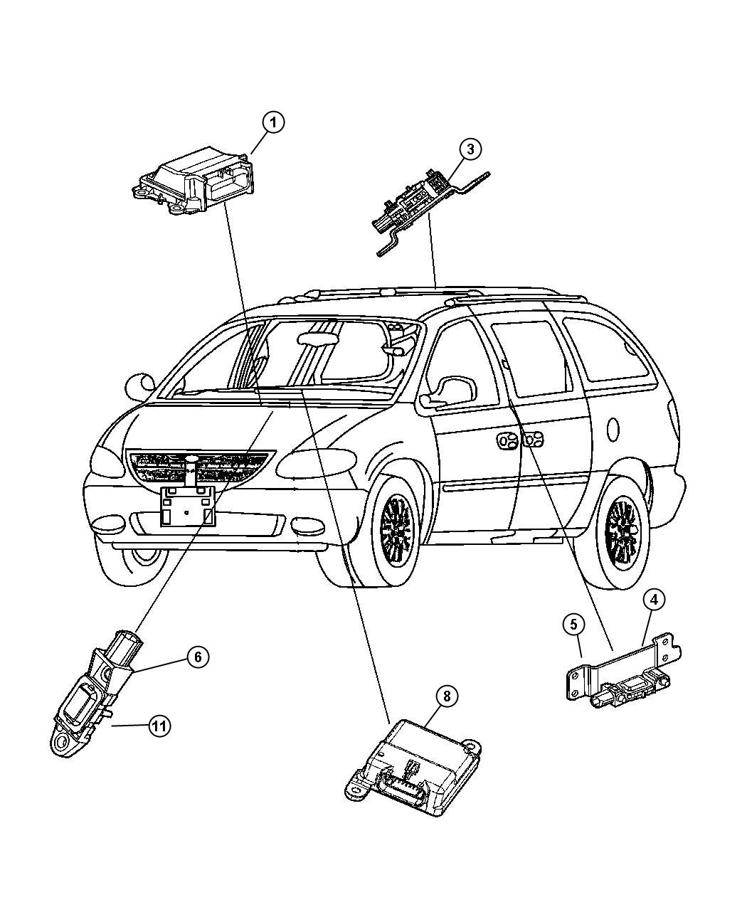 hight resolution of cadillac power seat wiring diagram cadillac discover your wiring dodge grand caravan air bag sensor location