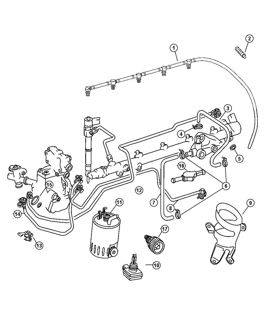 Dodge SPRINTER Filter. Fuel. Dieselemissions, cly