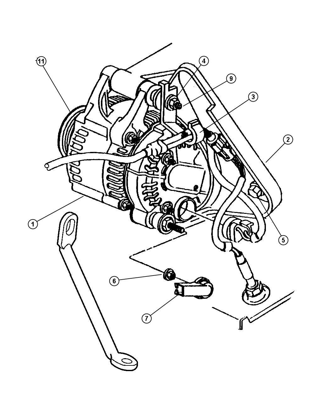 Dodge Intrepid Clip. Wiring. Transmission wiring