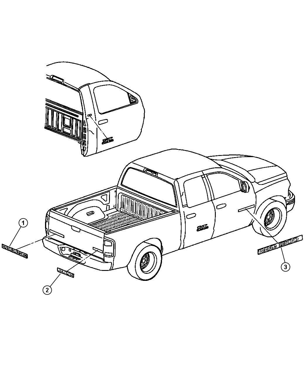 Dodge Ram Quad Cab 4 7l Magnum V8 M T Nameplate