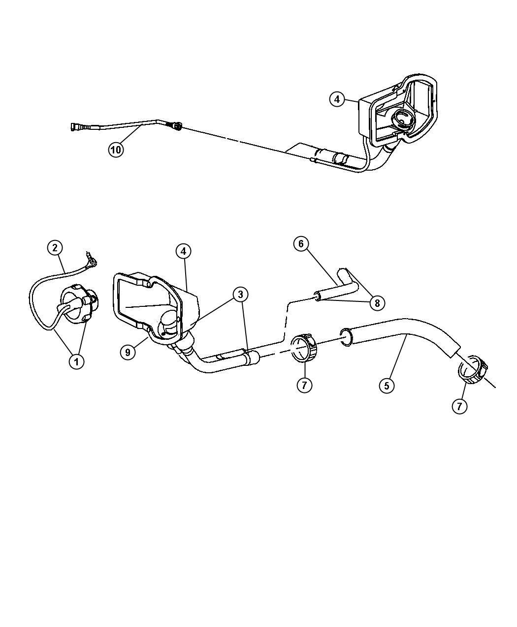Dodge Ram Cap Fuel Filler Up To 04 27 04