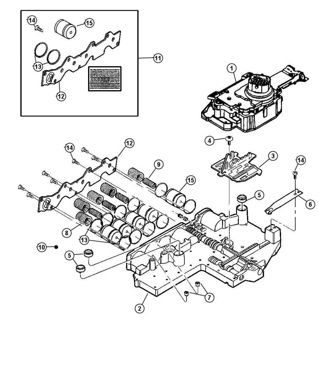 medium resolution of valve body 45rfe dgq 42re transmission diagram 46re transmission parts diagram